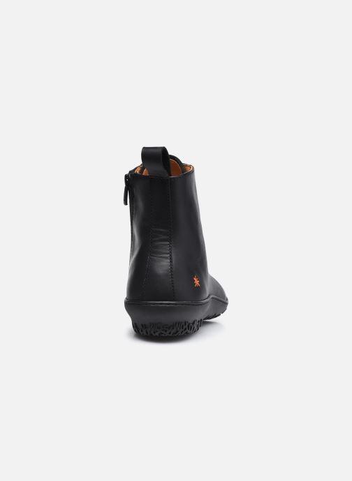 Bottines et boots Art ANTIBES 1424 Noir vue droite