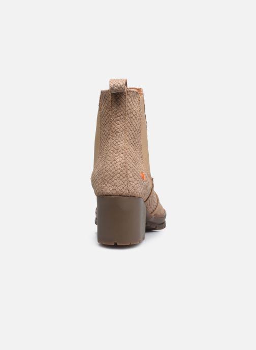 Bottines et boots Art CAMDEN 1235P Beige vue droite
