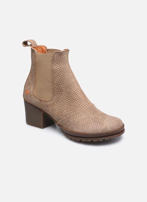 Bottines et boots Art CAMDEN 1235P Beige vue détail/paire
