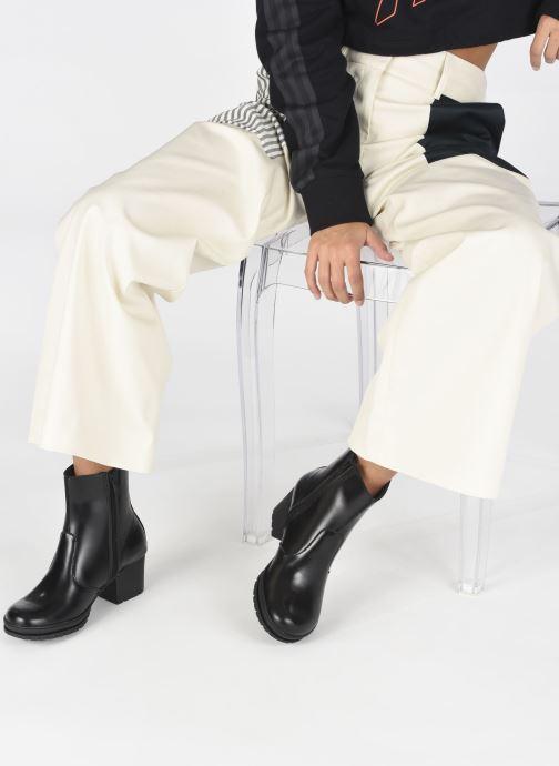 Stiefeletten & Boots Art CAMDEN 1249 schwarz ansicht von unten / tasche getragen