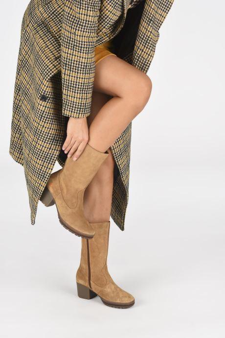 Stiefeletten & Boots Art CAMDEN 1247 braun ansicht von unten / tasche getragen