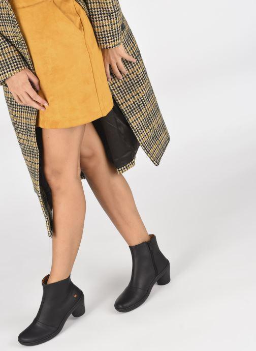 Stiefeletten & Boots Art ALFAMA 1442 schwarz ansicht von unten / tasche getragen