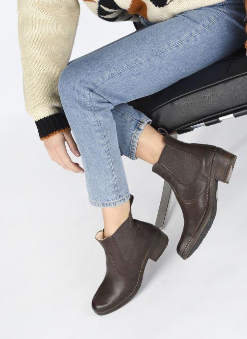 Stiefeletten & Boots Neosens MEDOC S3077 braun ansicht von unten / tasche getragen