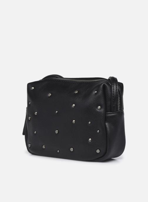 Handtaschen Pepe jeans Oria Bag schwarz schuhe getragen