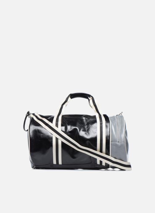 Sacs de sport Fred Perry Color Block Classic Barrel Bag Noir vue face