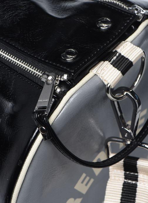 Sacs de sport Fred Perry Color Block Classic Barrel Bag Noir vue gauche
