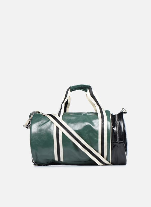 Sacs de sport Fred Perry Color Block Classic Barrel Bag Vert vue face