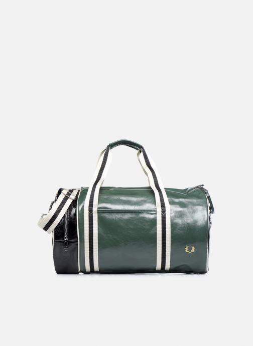 Sacs de sport Fred Perry Color Block Classic Barrel Bag Vert vue détail/paire