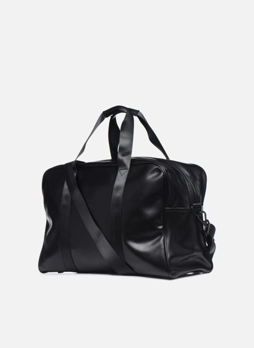 Bagages Fred Perry Embossed Pu Holdall Noir vue droite