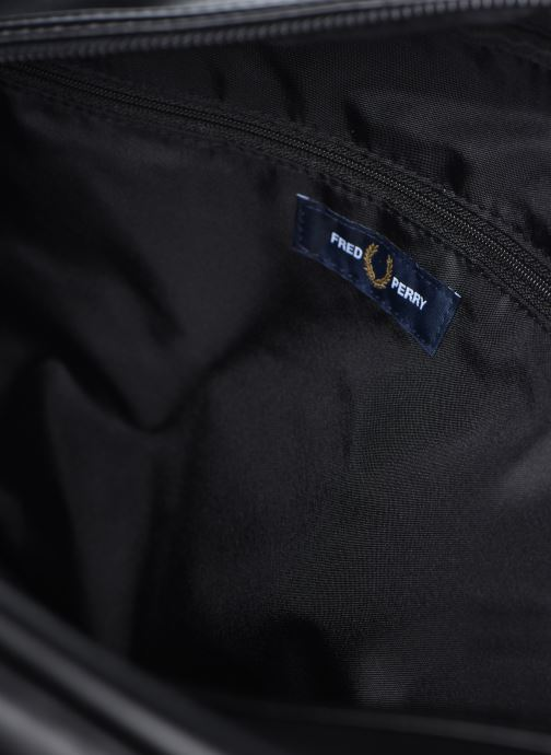 Bagages Fred Perry Embossed Pu Holdall Noir vue derrière