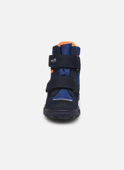 Sportschuhe Superfit Husky1 blau schuhe getragen