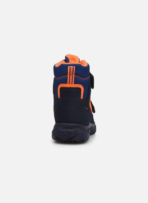 Sportschuhe Superfit Husky1 blau ansicht von rechts