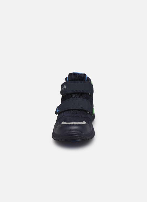 Sneakers Superfit Storm Azzurro modello indossato