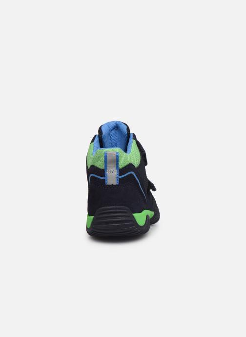 Sneaker Superfit Storm blau ansicht von rechts