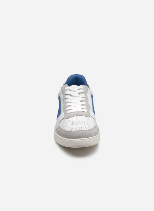 Deportivas Faguo HAZEL BASKETS LEATHER SUEDE Blanco vista del modelo