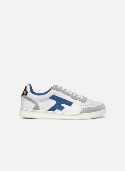Deportivas Faguo HAZEL BASKETS LEATHER SUEDE Blanco vistra trasera