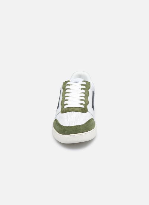 Sneaker Faguo HAZEL BASKETS LEATHER SUEDE weiß schuhe getragen
