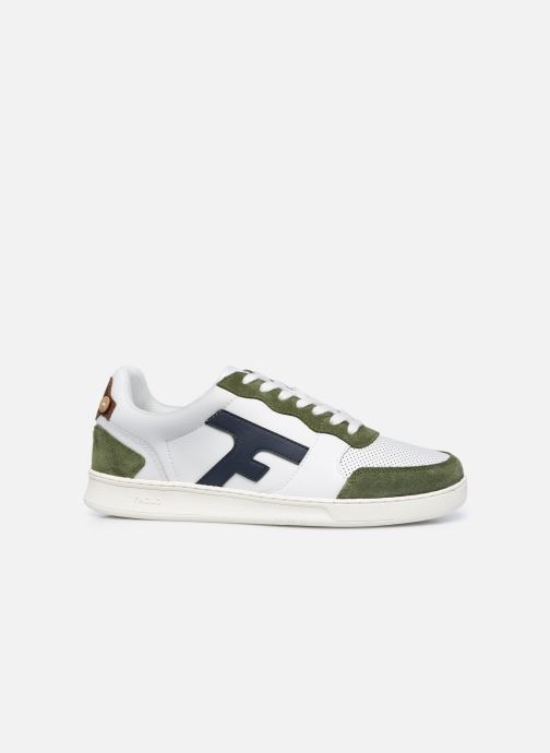 Sneaker Faguo HAZEL BASKETS LEATHER SUEDE weiß ansicht von hinten