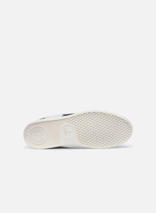 Sneaker Faguo HAZEL BASKETS LEATHER SUEDE weiß ansicht von oben