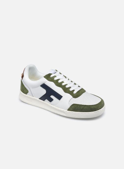 Sneaker Faguo HAZEL BASKETS LEATHER SUEDE weiß detaillierte ansicht/modell