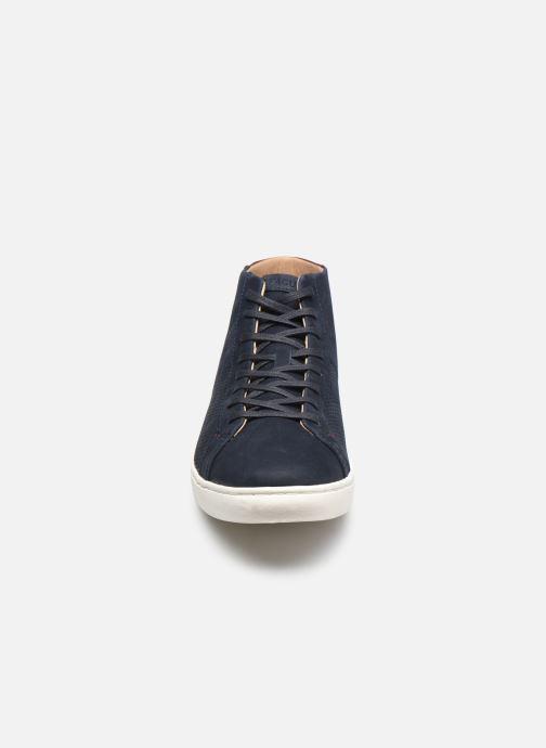 Baskets Faguo ASPEN BASKETS LEATHER Bleu vue portées chaussures