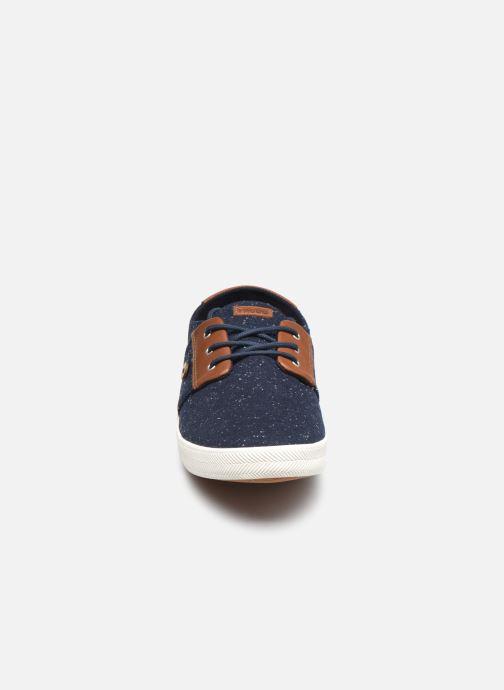 Sneaker Faguo CYPRESSME BASKETS SYN WOVEN blau schuhe getragen