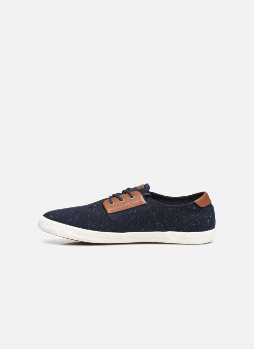 Sneaker Faguo CYPRESSME BASKETS SYN WOVEN blau ansicht von vorne