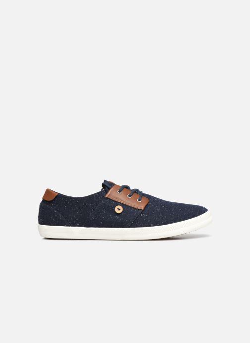 Sneaker Faguo CYPRESSME BASKETS SYN WOVEN blau ansicht von hinten
