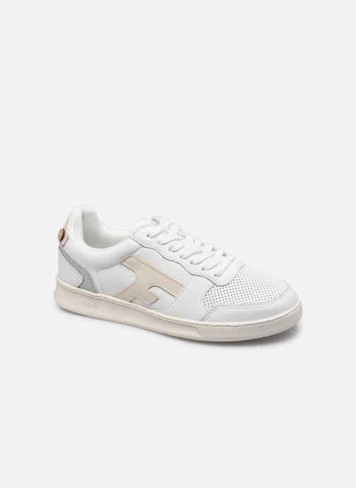 Sneaker Faguo HAZEL BASKETS LEATHER W weiß detaillierte ansicht/modell