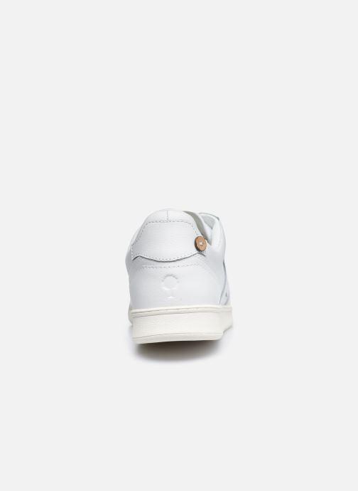 Sneaker Faguo HAZEL BASKETS LEATHER M weiß ansicht von rechts