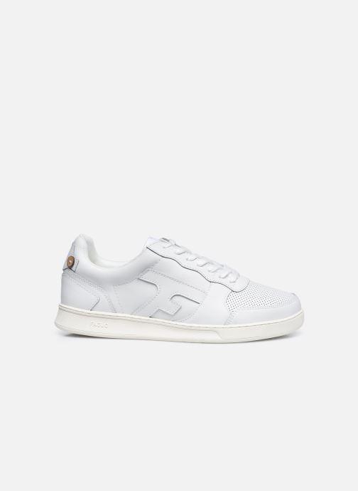 Sneaker Faguo HAZEL BASKETS LEATHER M weiß ansicht von hinten