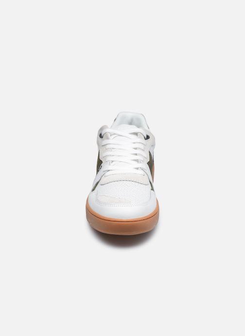 Sneaker Faguo CEIBA BASKETS LEATHER SUEDE weiß schuhe getragen