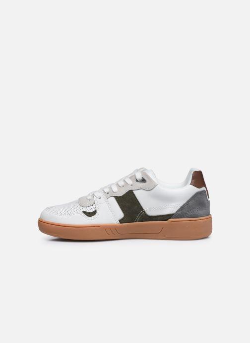Sneaker Faguo CEIBA BASKETS LEATHER SUEDE weiß ansicht von vorne