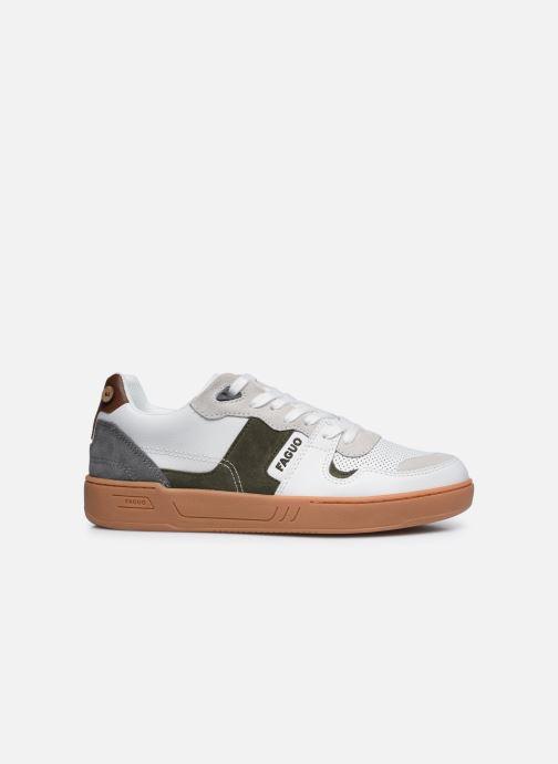 Sneaker Faguo CEIBA BASKETS LEATHER SUEDE weiß ansicht von hinten
