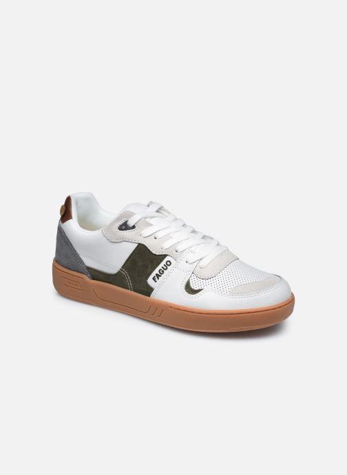 Sneaker Faguo CEIBA BASKETS LEATHER SUEDE weiß detaillierte ansicht/modell