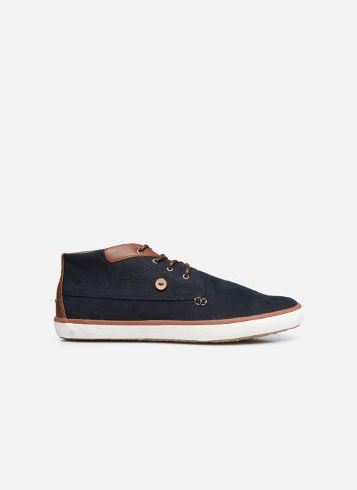 Sneaker Faguo BASKET WATTLE LEATHER blau ansicht von hinten