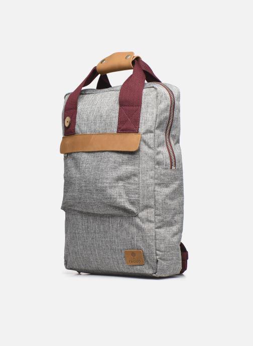 Laptoptaschen Faguo URBANBAG BAGAGERIE SYNTHETIC W grau schuhe getragen