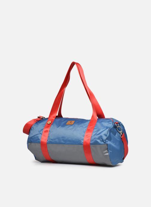 Sporttaschen Faguo DUFFLE BAGAGERIE SYNTHETIC WOV blau schuhe getragen