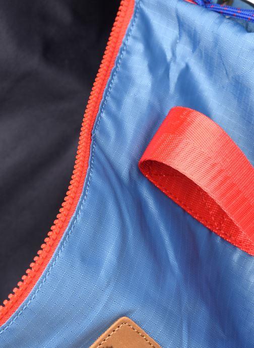 Sporttaschen Faguo DUFFLE BAGAGERIE SYNTHETIC WOV blau ansicht von hinten