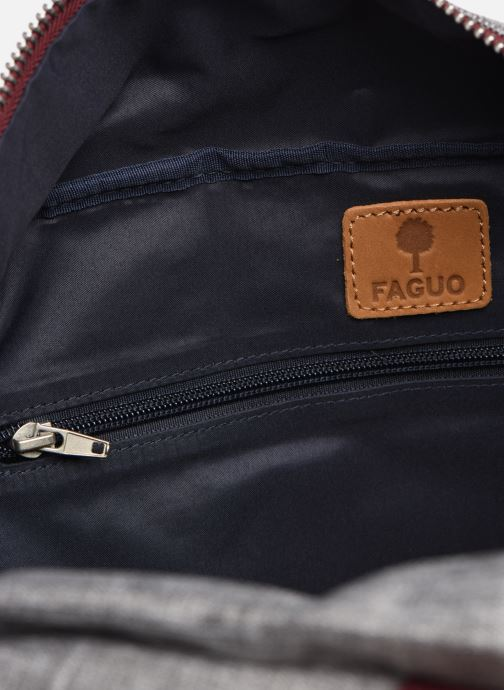 Bagages Faguo BAG48 BAGAGERIE SYNTHETIC WOVE Gris vue derrière