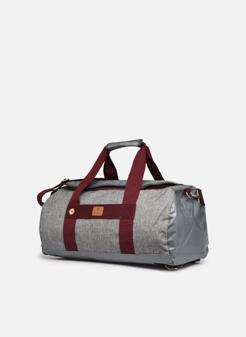 Bagages Faguo TRAVELER BAGAGERIE SYNTHETIC W Gris vue portées chaussures