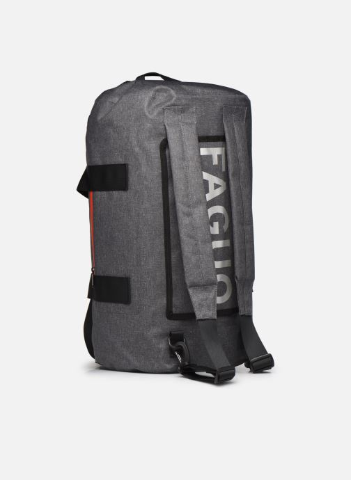 Equipaje  Faguo TRAVELERW BAGAGERIE SYNTHETIC Negro vista lateral izquierda