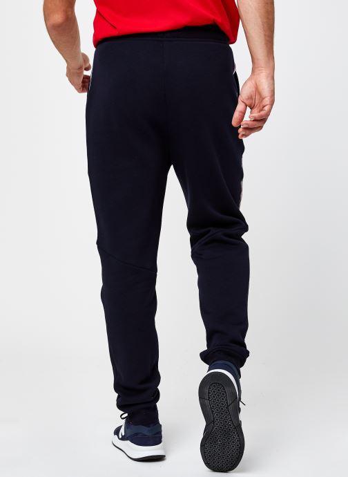 Vêtements Tommy Sport Cuffed Fleece Pant Tapered Leg Bleu vue portées chaussures