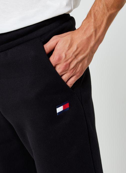 Vêtements Tommy Sport Cuffed Regular Fleece Pant Noir vue face