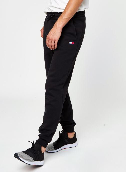 Vêtements Tommy Sport Cuffed Regular Fleece Pant Noir vue détail/paire