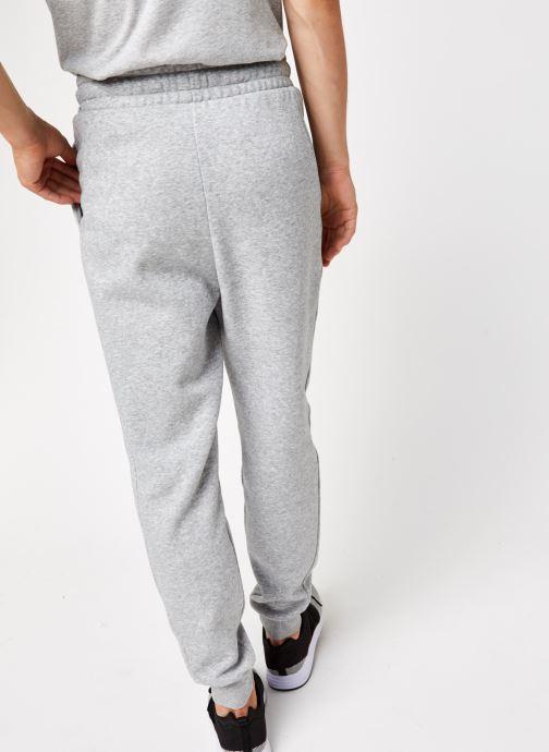 Vêtements Tommy Sport Cuffed Regular Fleece Pant Gris vue portées chaussures