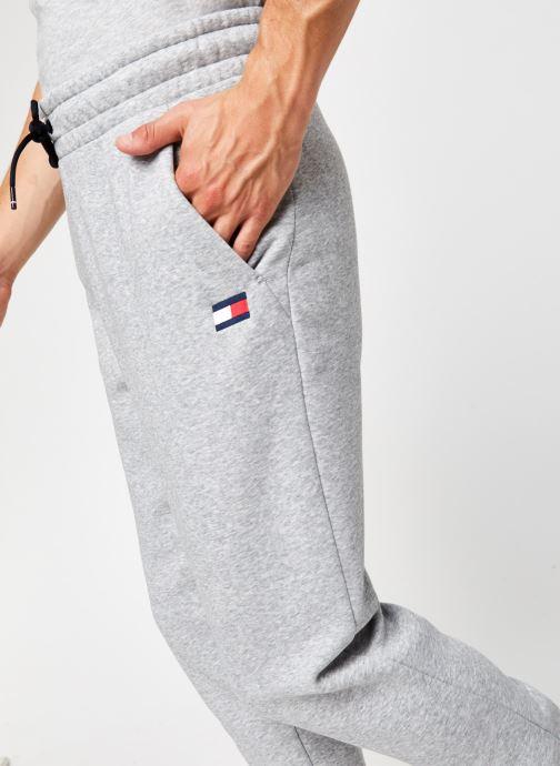 Vêtements Tommy Sport Cuffed Regular Fleece Pant Gris vue face