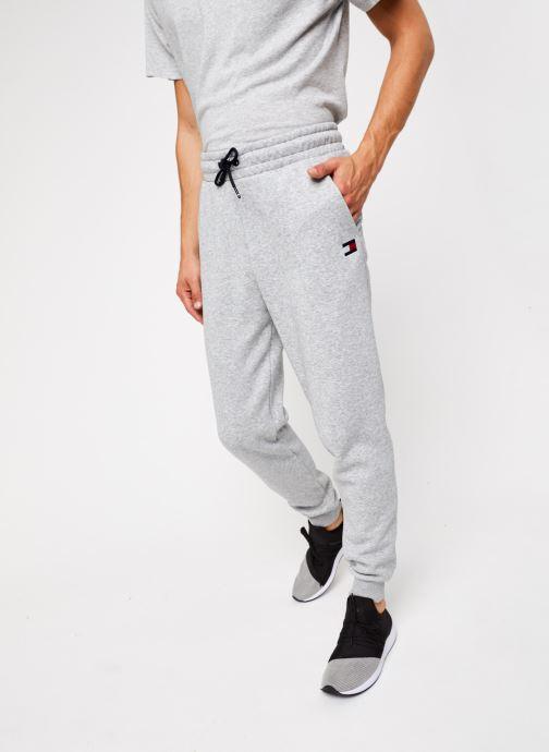 Vêtements Tommy Sport Cuffed Regular Fleece Pant Gris vue détail/paire