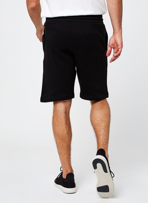 Vêtements Tommy Sport Fleece Short Noir vue portées chaussures