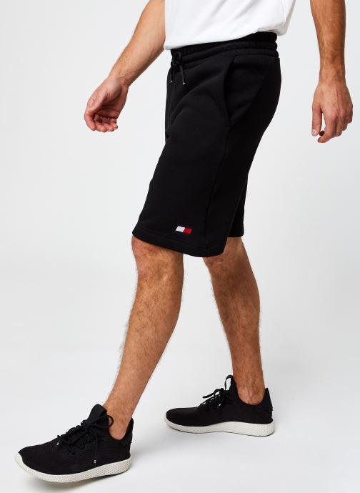 Vêtements Tommy Sport Fleece Short Noir vue détail/paire